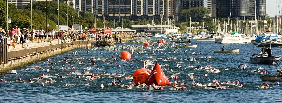 Open water Chicago